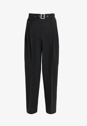 HIMARA - Trousers - black