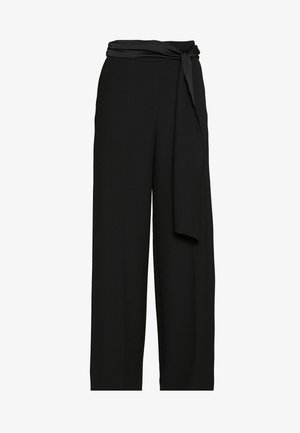 HEDENA - Trousers - black