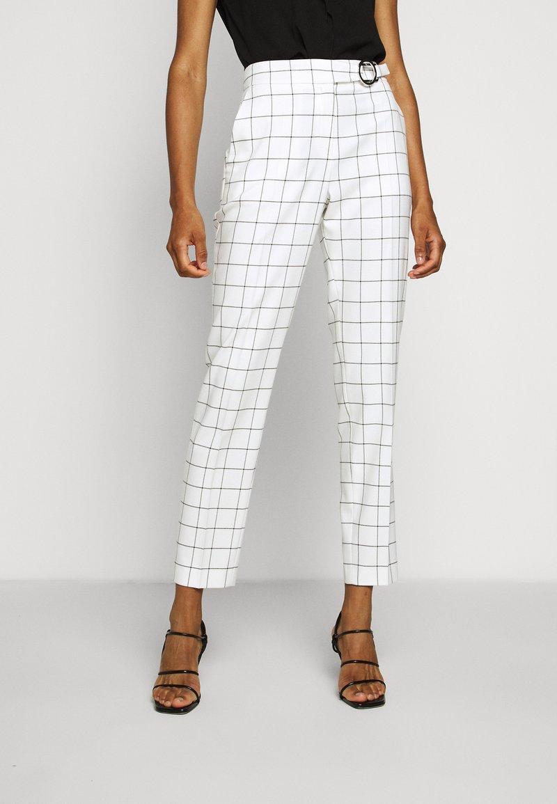 HUGO - HETENI - Trousers - beige