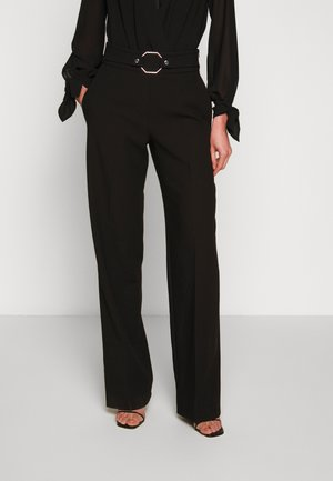 HIMESA - Trousers - black