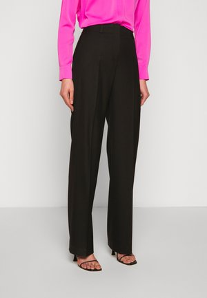 HULANA - Trousers - black