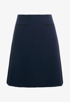 RELINI - A-line skirt - open blue