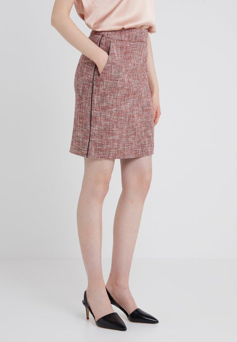 HUGO - RAJLA - Pencil skirt - red