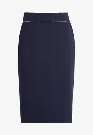RINDIA - A-line skirt - open blue