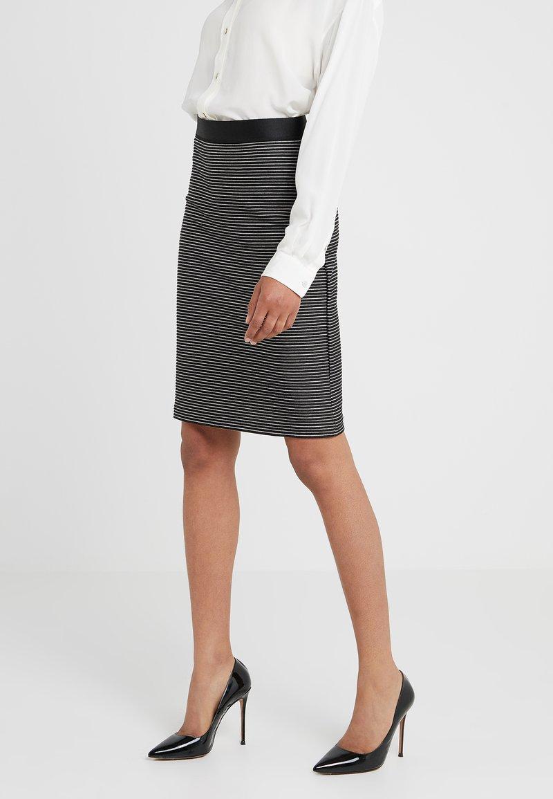 HUGO - NIFANI  - Pencil skirt - black