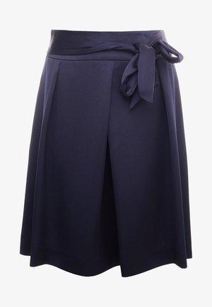 REMONI - Spódnica trapezowa - open blue