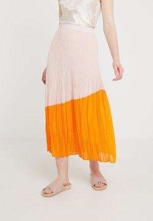 RELISSY - A-linjainen hame - bright orange