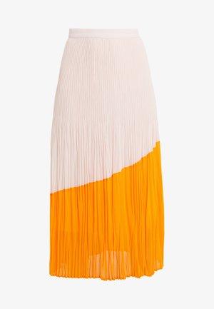 RELISSY - A-lijn rok - bright orange
