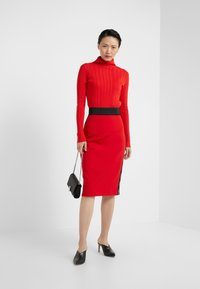 HUGO - NEEMA - Pencil skirt - red - 1