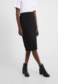 HUGO - NASELLI - Falda de tubo - black - 0