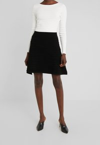 HUGO - SOLAINA - A-line skirt - black - 0