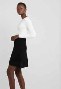 HUGO - SOLAINA - A-line skirt - black
