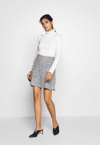 HUGO - RELEA - A-line skirt - natural - 1