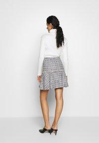HUGO - RELEA - A-line skirt - natural - 2
