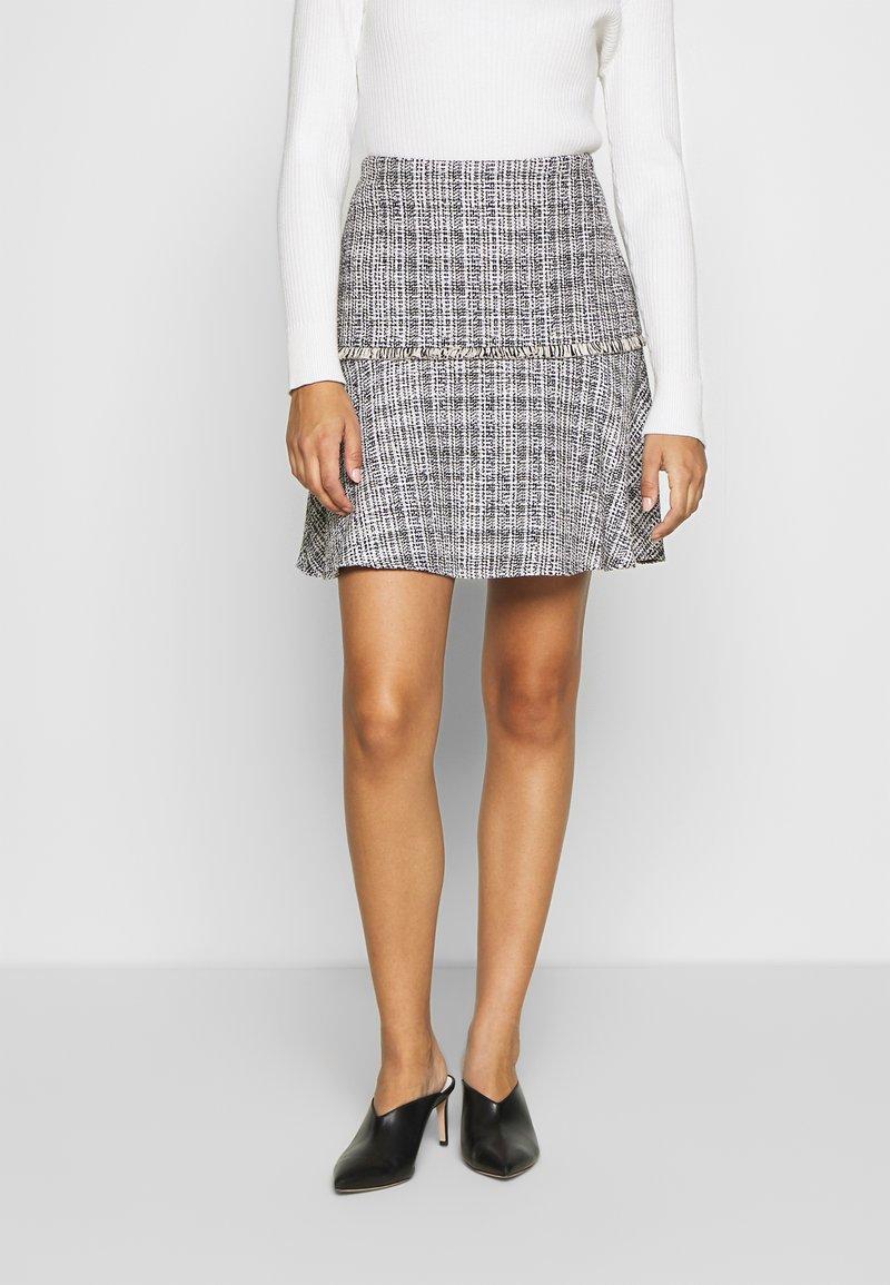 HUGO - RELEA - A-line skirt - natural