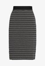 NILLANE - Pencil skirt - black