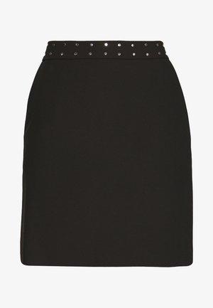 RIATA - A-snit nederdel/ A-formede nederdele - black