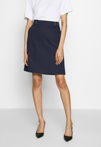 HUGO - RALESA - A-line skirt - open blue - 0