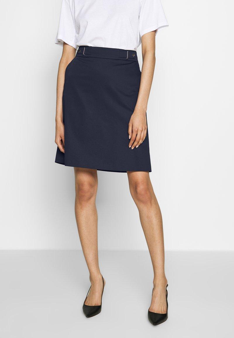 HUGO - RALESA - A-line skirt - open blue