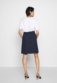 HUGO - RALESA - A-line skirt - open blue - 2