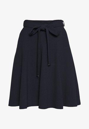 ROMELLI - Spódnica trapezowa - open blue