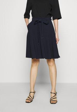 ROMELLI - A-line skirt - open blue