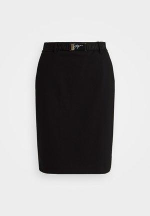 RYENA - Pencil skirt - black