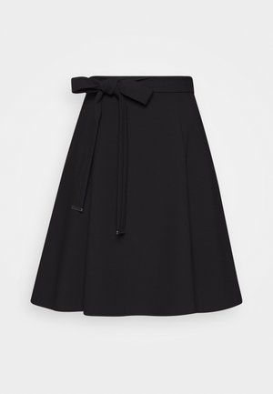 RAHENI - A-line skirt - black