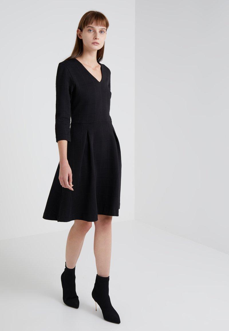 HUGO - DICENIA - Strikket kjole - black