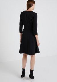 HUGO - DICENIA - Strikket kjole - black - 2