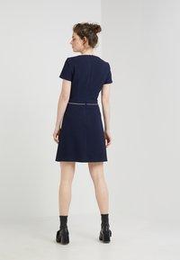 HUGO - KATNISS - Strikket kjole - open blue - 2