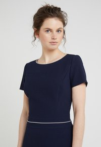 HUGO - KATNISS - Strikket kjole - open blue - 4