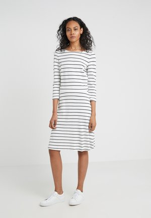 DANGELIA - Jersey dress - white