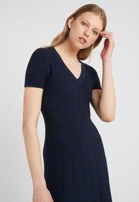 HUGO - SAWERYA - Sukienka etui - open blue - 4
