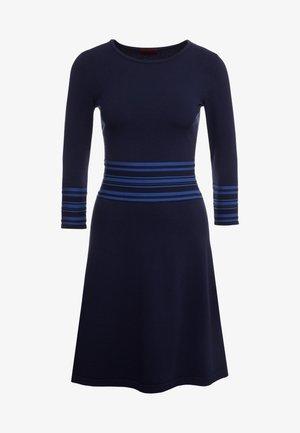 SANDREYYA - Gebreide jurk - dark blue