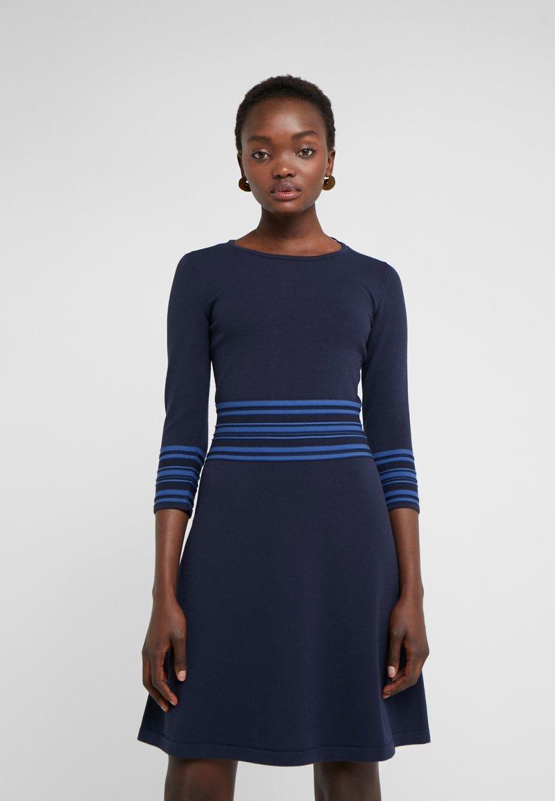 HUGO - SANDREYYA - Strickkleid - dark blue
