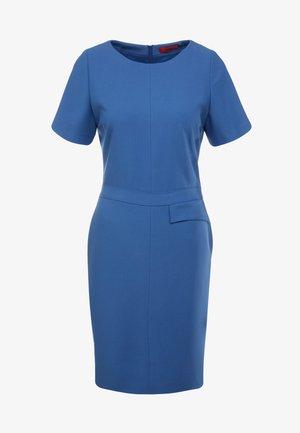KATARA - Sukienka etui - open blue