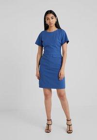 HUGO - KATARA - Shift dress - open blue - 0