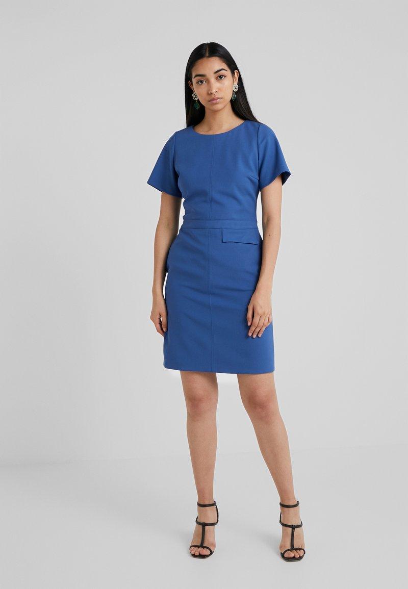 HUGO - KATARA - Shift dress - open blue