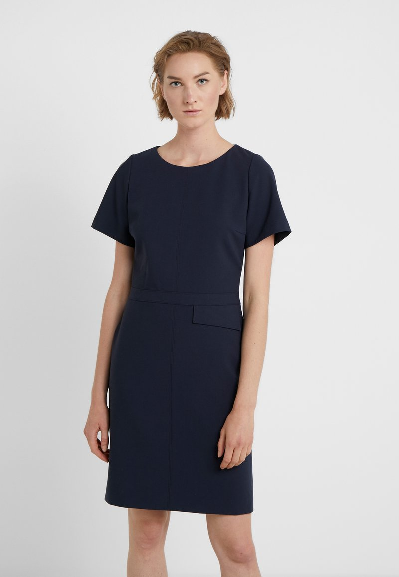 HUGO - KATARA - Pouzdrové šaty - dark blue