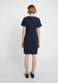 HUGO - KATARA - Pouzdrové šaty - dark blue - 2