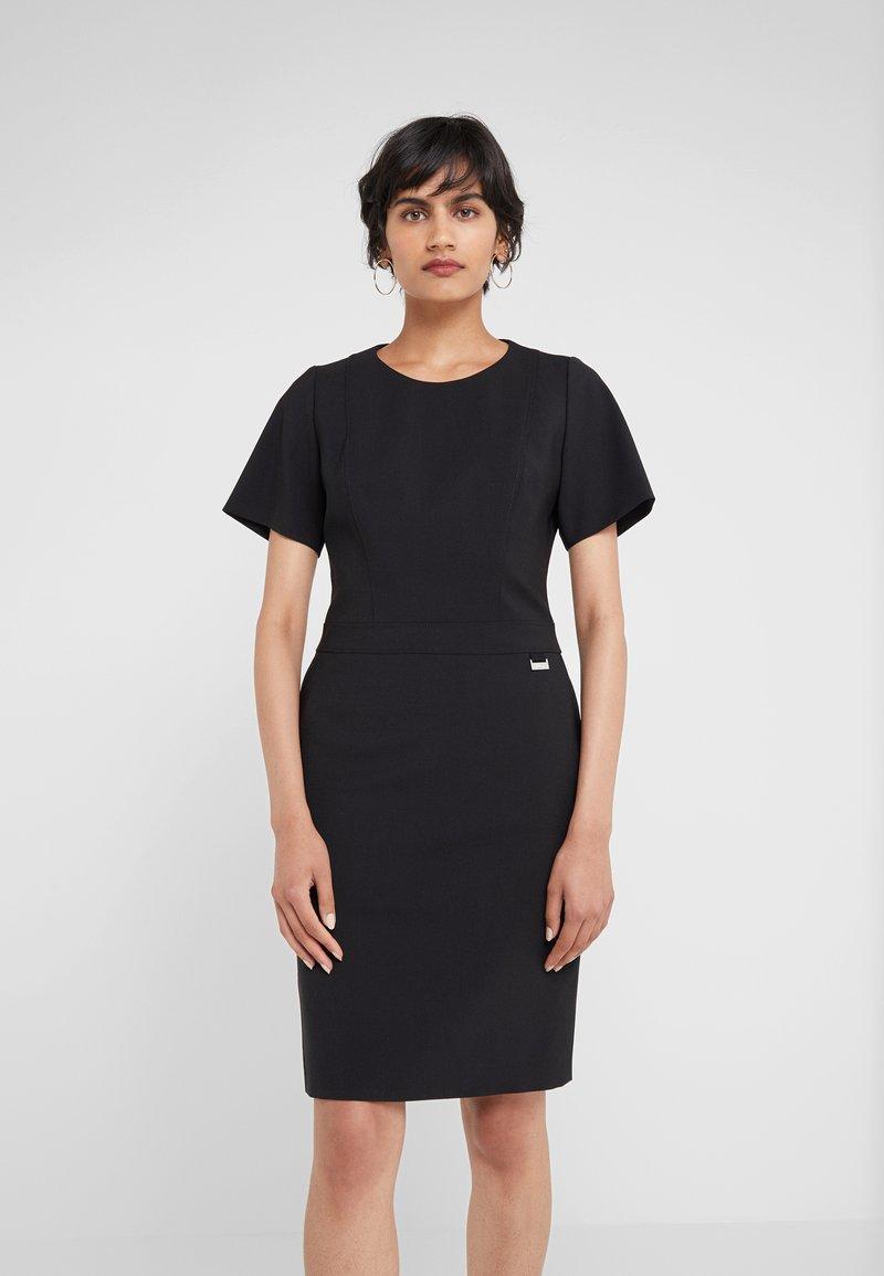 HUGO - KOLILA - Pouzdrové šaty - black