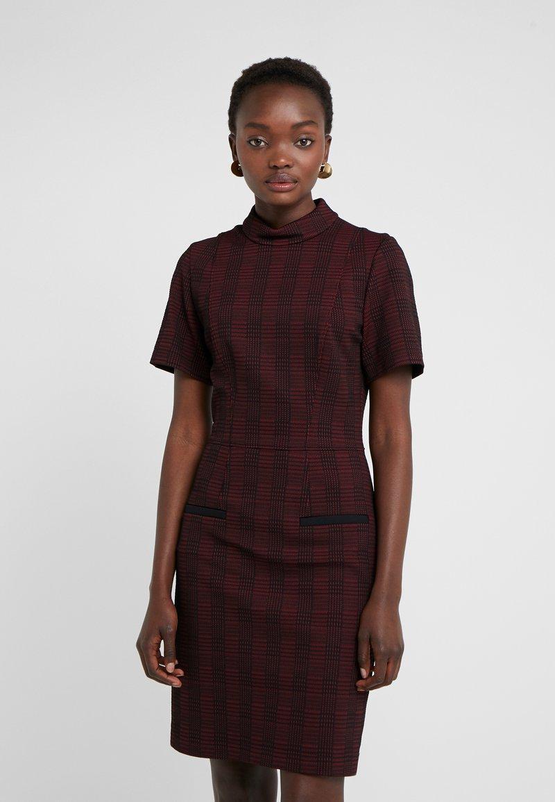 HUGO - KONELE - Shift dress - open red