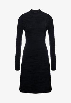 SUMEEYA - Vestido de punto - black