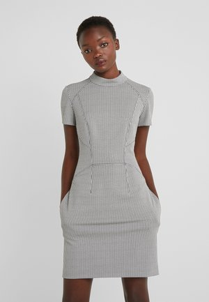 KABECCI - Shift dress - white/black