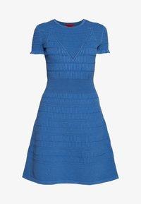 HUGO - SATORINY - Jumper dress - bright blue - 3