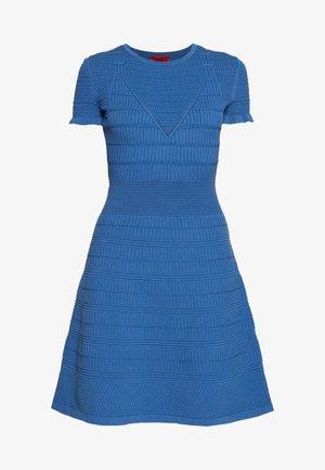 SATORINY - Strikkjoler - bright blue