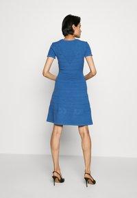 HUGO - SATORINY - Jumper dress - bright blue - 2