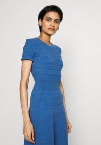 HUGO - SATORINY - Jumper dress - bright blue - 4