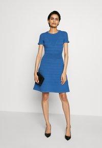 HUGO - SATORINY - Jumper dress - bright blue - 1